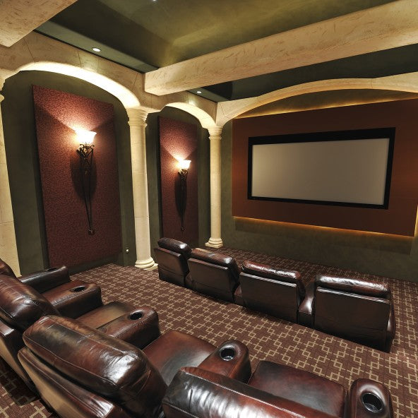 Fairview Home Theater Carpet