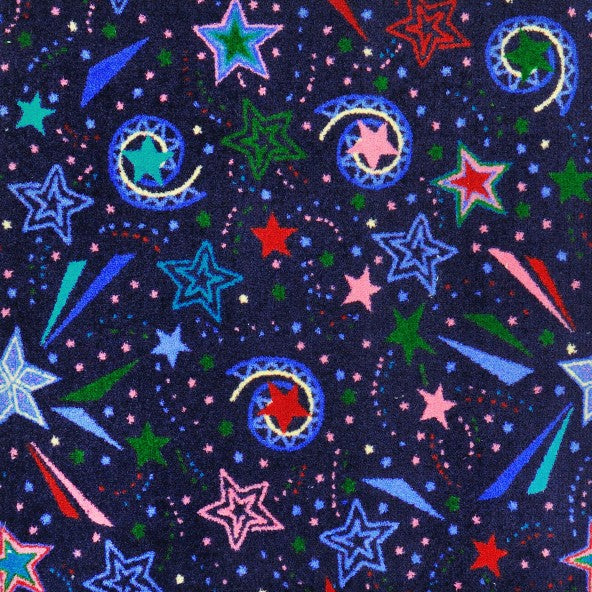 Falling Stars Home Theater Carpet