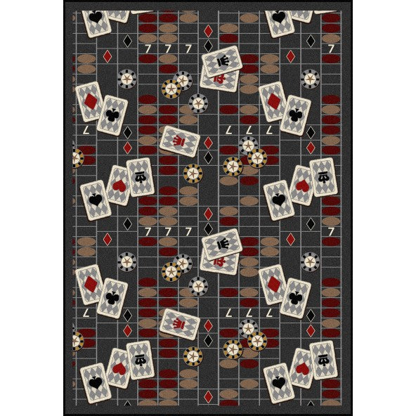Feeling Lucky Home Theater Rug
