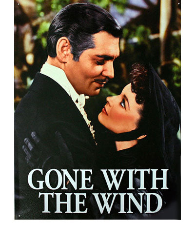 Gone With the Wind Metal Sign Artwork A