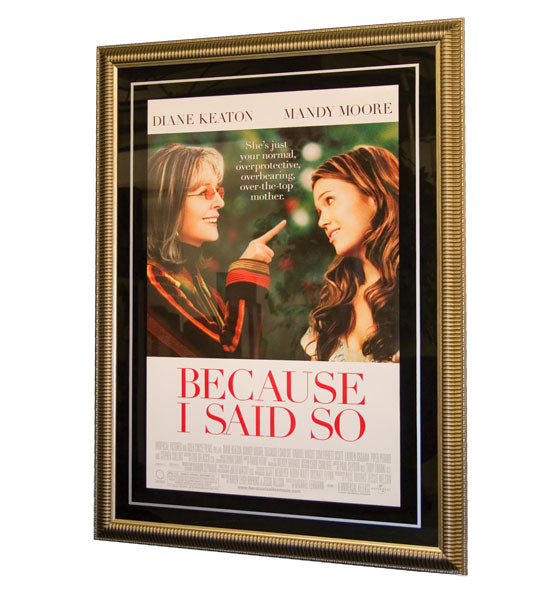 Grand Oversized Movie Poster Frame Slant