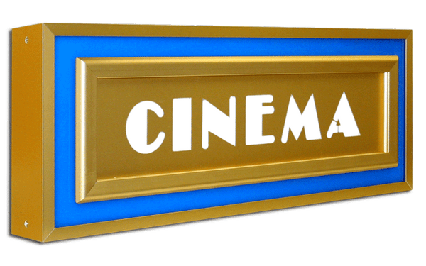 Halo Cinema Identity Sign