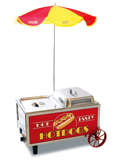 Hot Dog Mini Cart Steamer Benchmark 60072