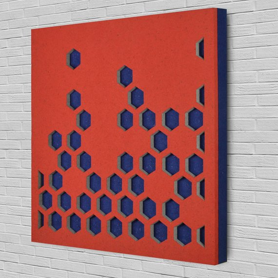 Polygon Tessa Tiles Acoustic Panels 4 Pack