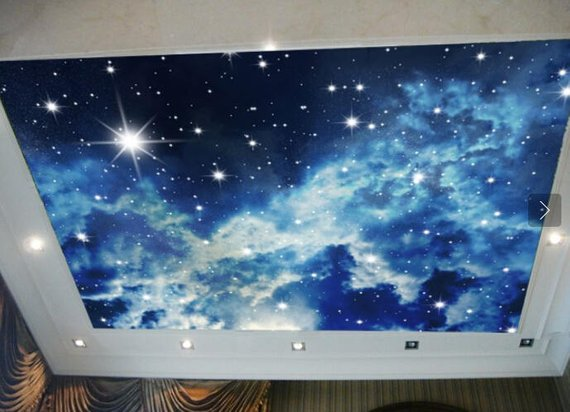 Starlight Headliner Home Theater Wall Mural