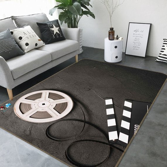 Movie Tape Non Slip Rug Mat