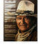 John Wayne Metal Sign Colorized Artwork