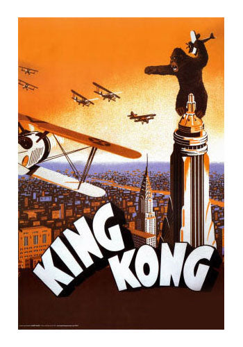 King Kong Classic Movie Poster