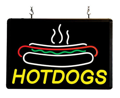 LED Hotdogs Sign Ultra-Bright Benchmark 92002
