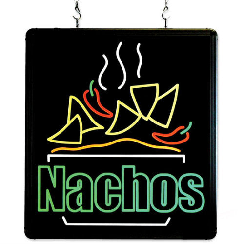 LED Nachos Sign Ultra-Bright Benchmark 92004