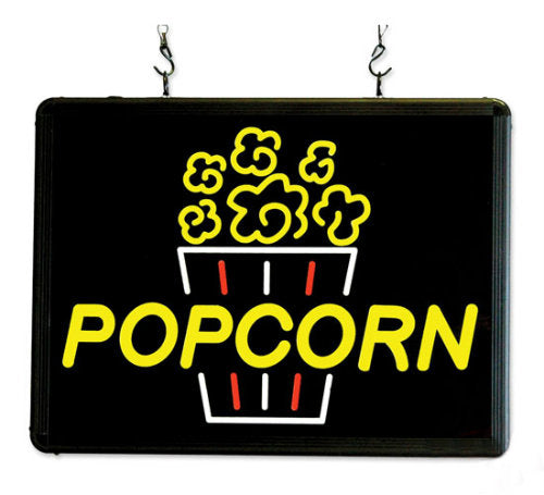 LED Popcorn Sign Ultra-Bright 92001