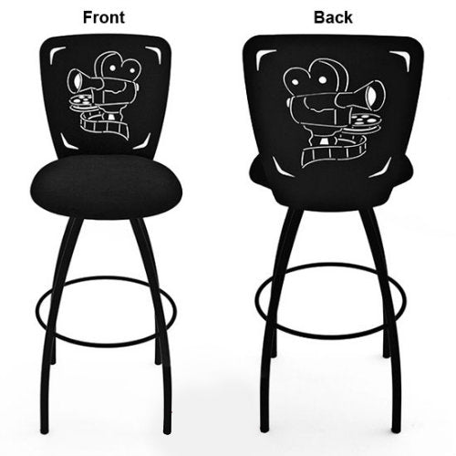 Movie Projector Barstool Theatrical Laser Cut