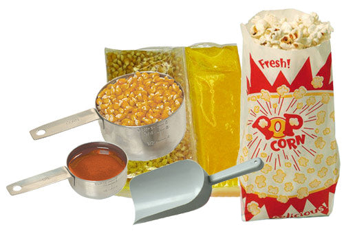 Popcorn Starter Kit 127 Piece Benchmark