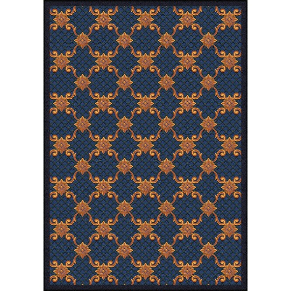 Queen Anne Home Theater Rug
