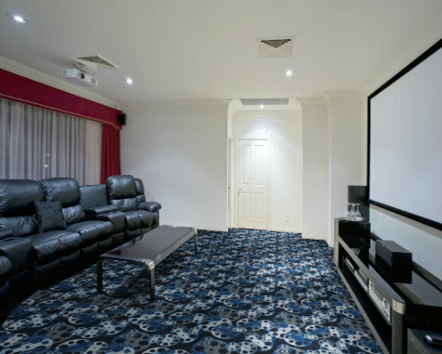Reeling Home Theater Carpet Black