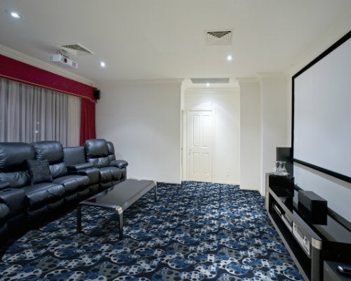 Reeling Home Theater Carpet Slate