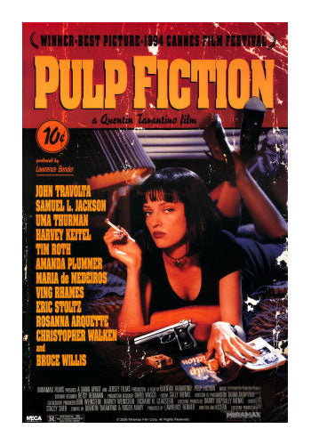 Retro Pulp Fiction Movie Poster