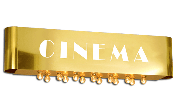 Royal Cinema Identity Sign