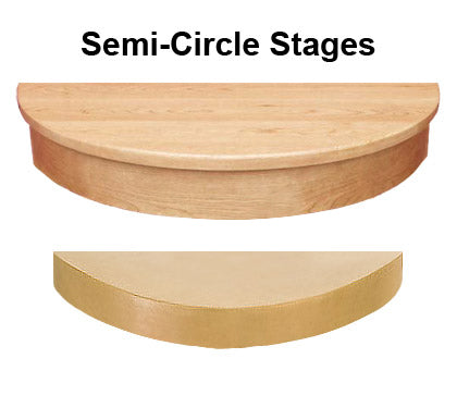 Semi-Circular Stage for Home Theater