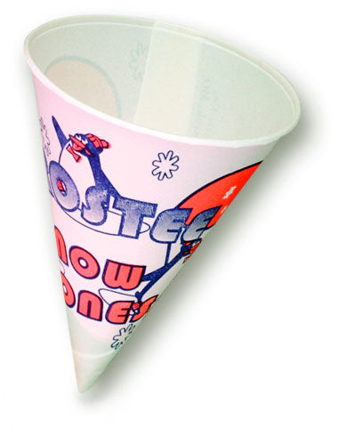 Snow Cone Cups 6 oz. Benchmark 72501 (1000 per case)