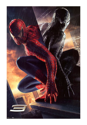 Spiderman Good and Evil Movie Poster