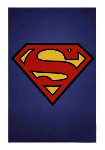 Superman Symbol Movie Poster