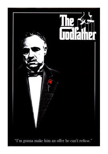 The Godfather Don Movie Poster
