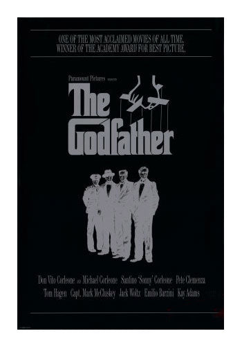 The Godfather Mob Movie Poster