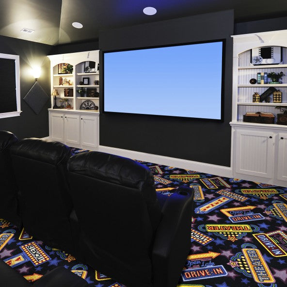 Theater District Home Theater Carpet
