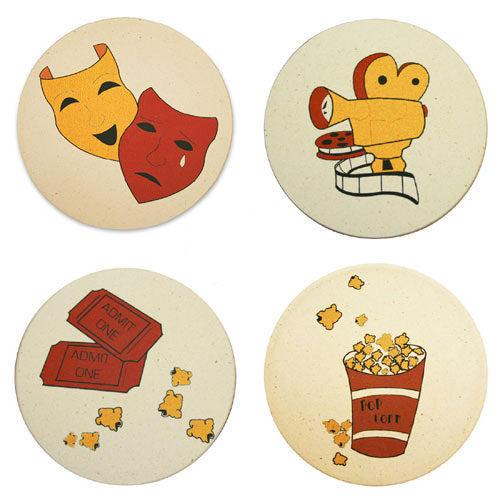 Theatrical Movie Coasters