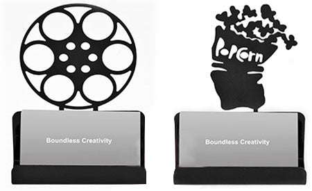 Theatrical Movie Themed Business Card Holders