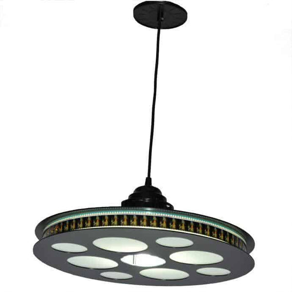 Goldberg 35mm Film Reel Light Fixture