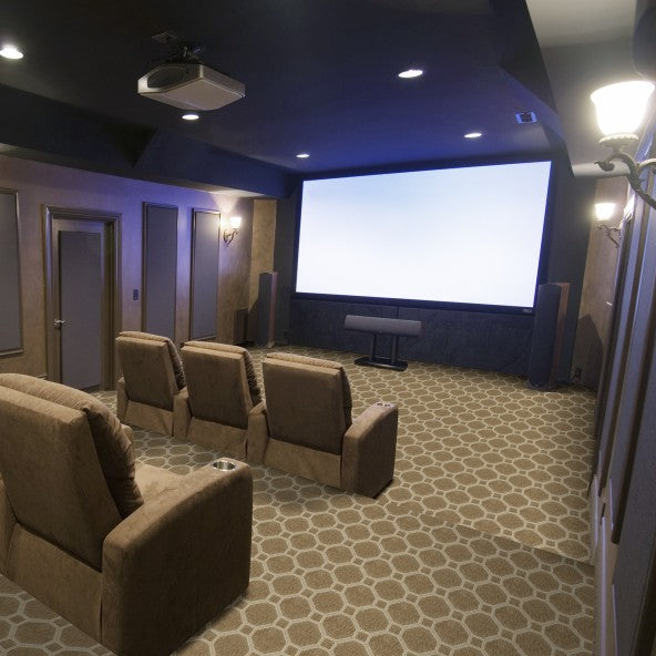 Venetian Home Theater Carpet