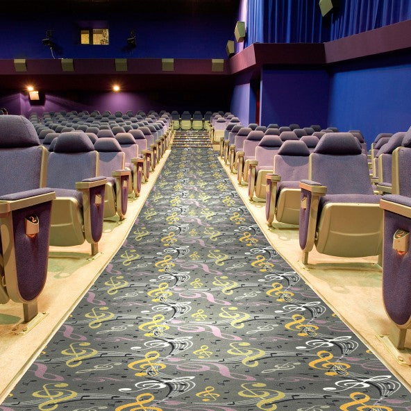 Virtuoso Home Theater Carpet Brown