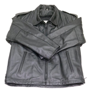 Passaic Cowhide Police issue leather jacket