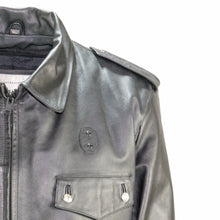 Load image into Gallery viewer, Passaic new jersey Cowhide Police issue leather jacket taylor leather
