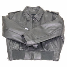Load image into Gallery viewer, atlanta police leather jacket black goatskin taylors leather