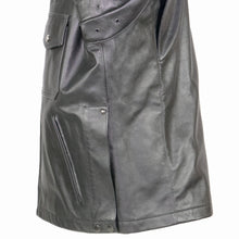 Load image into Gallery viewer, Paterson Cowhide Leather Mid Length Police Jacket