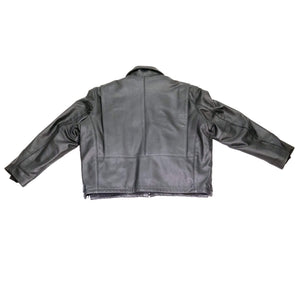 Cleveland Cowhide Leather Police Jacket