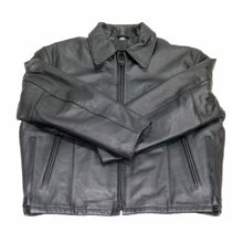 Load image into Gallery viewer, Cleveland Cowhide Leather Police Jacket