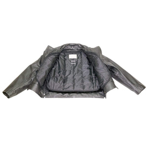 Milwaukee Cowhide Leather Classic Police Duty Jacket