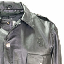 Load image into Gallery viewer, Milwaukee Cowhide Leather Classic Police Duty Jacket