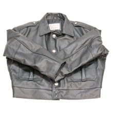 Load image into Gallery viewer, VINTAGE CHICAGO LEATHER POLICE JACKET