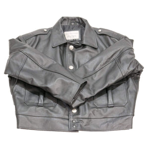 VINTAGE CHICAGO LEATHER POLICE JACKET