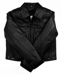 New! Women's Indianapolis Leather Police Jacket