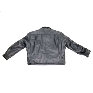 Indianapolis Cowhide Leather Police Jacket