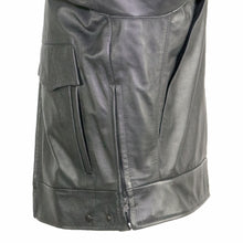 Load image into Gallery viewer, Indianapolis Cowhide Leather Police Jacket