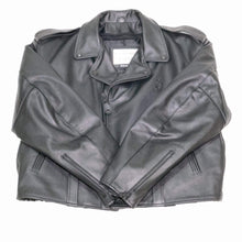 Load image into Gallery viewer, Pittsburgh Cowhide Leather Motorcycle Jacket