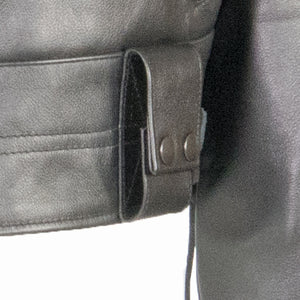 LAPD LEATHER JACKET DUTY BELT EQUIPMENT LOOPS