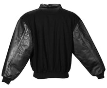 Load image into Gallery viewer, Casual Wool & Leather Jacket #5531